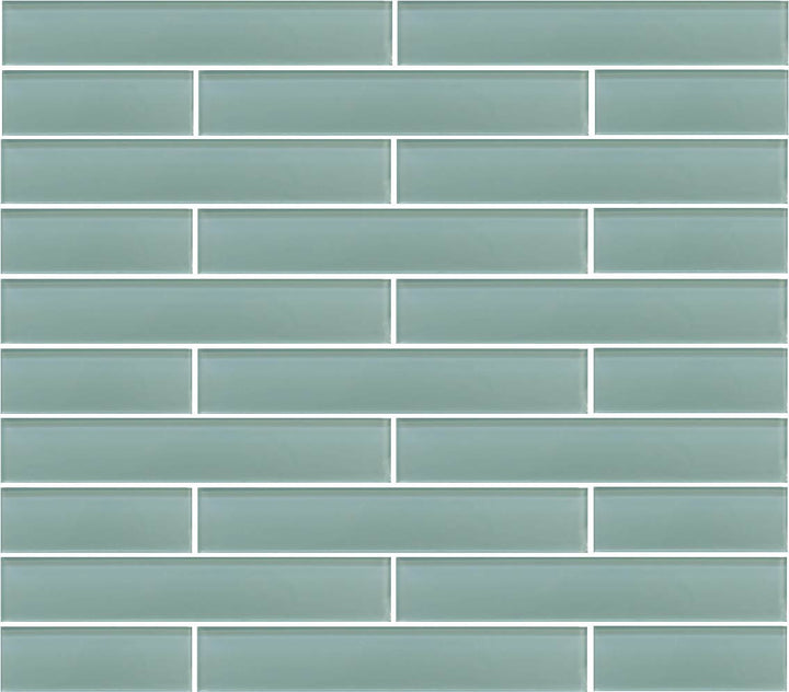 Seafoam 2x12 Glass Subway Tiles - rockypointtile-ca