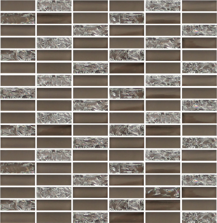Sparkle Taupe Glass Mosaic Subway Tiles - rockypointtile-ca