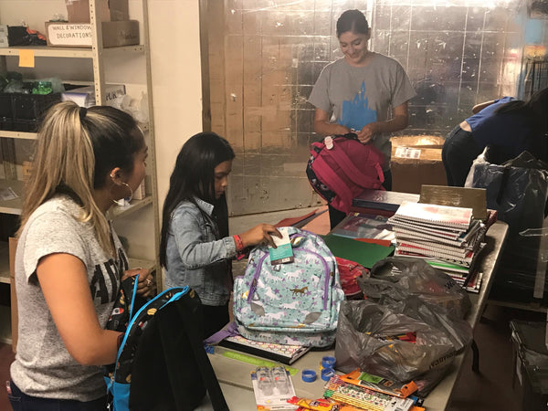 Back to School Drive a Success