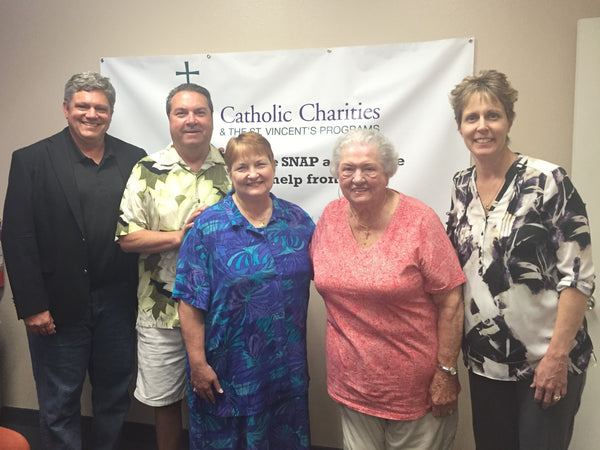 Local Couple Makes Generous Donation to Catholic Charities