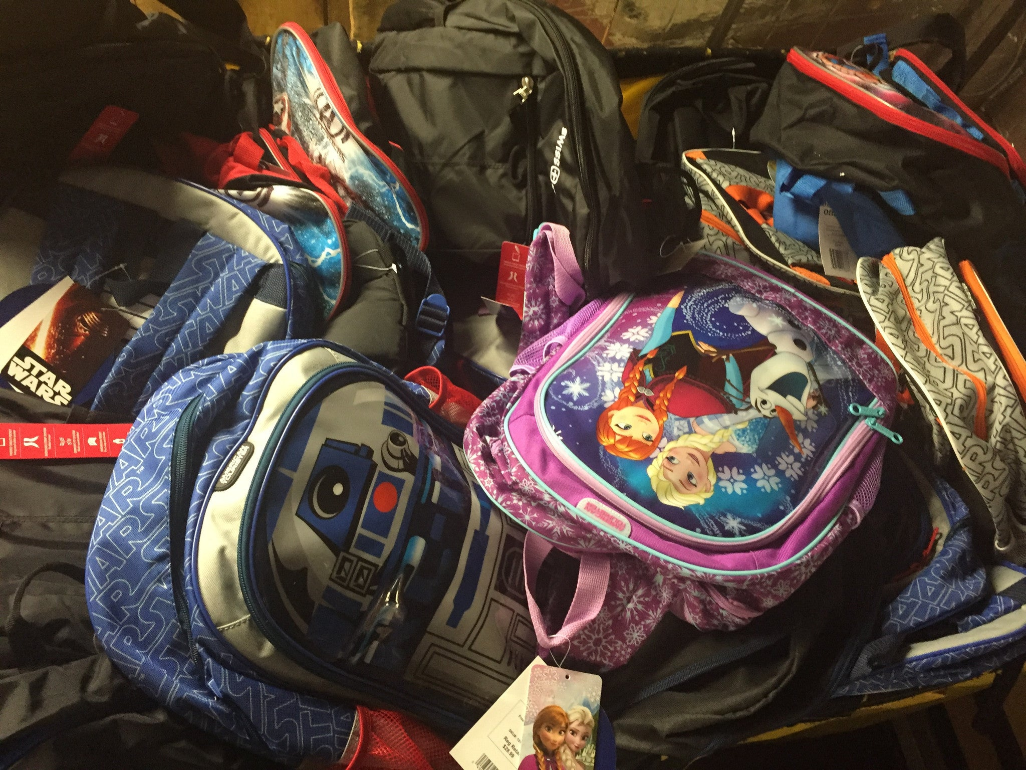 More than 300 backpacks delivered to students in need