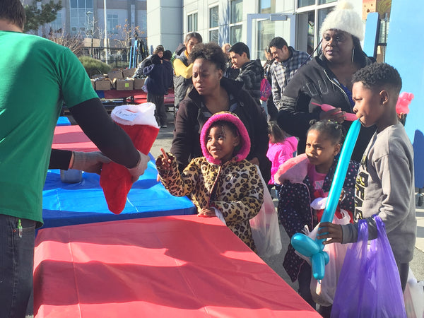 More than 2,000 Pre-filled Stockings Given to Children in Need