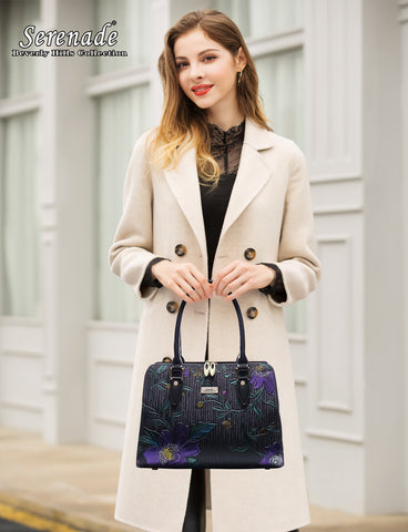Monet leather bag