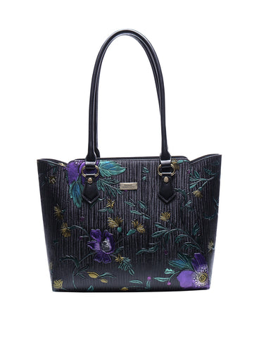 Monet leather tote
