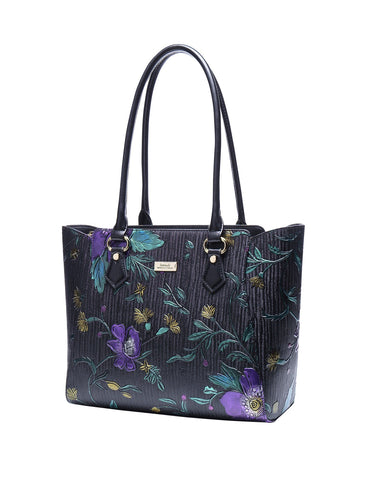 Serenade Beverly Hills Collection Monet leather tote