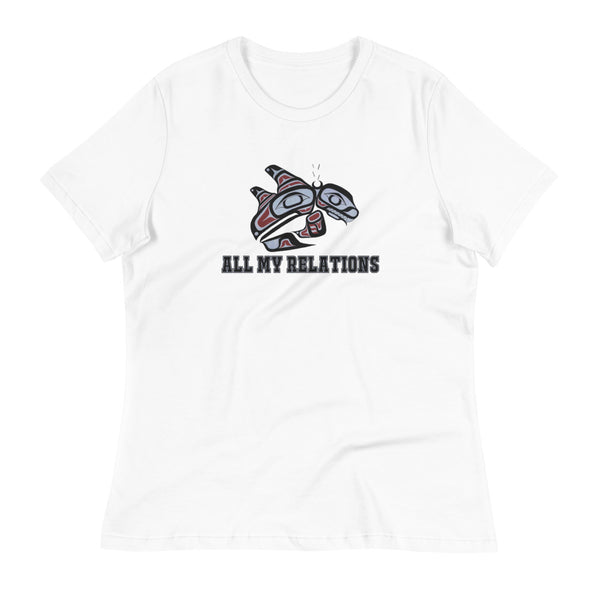 Women's Double fin Killer whale