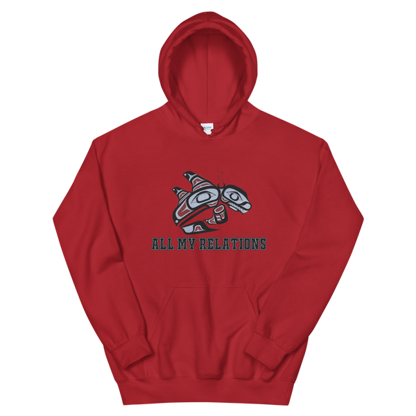 Double Finn Killer whale sweat shirt