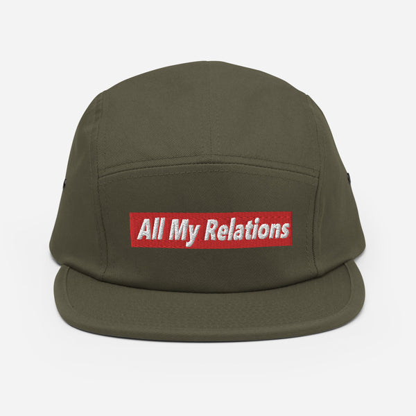 All My Relations Five Panel Cap