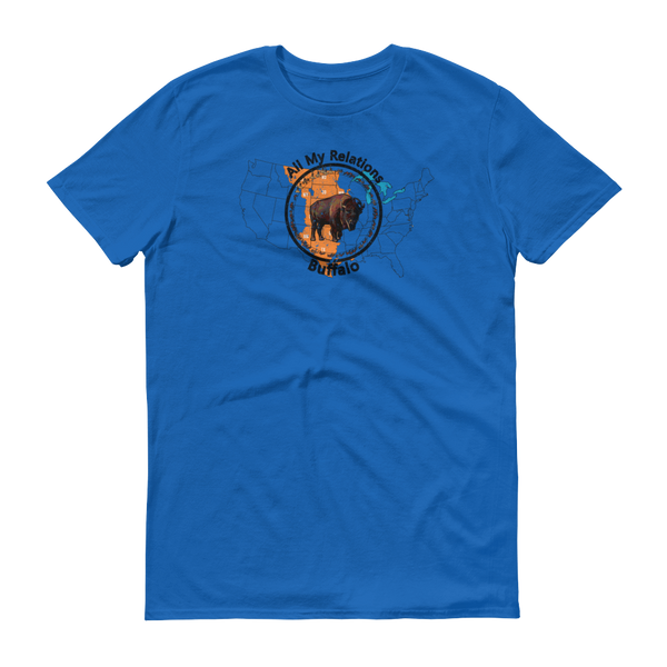 Where the Buffalo Raom T-Shirt