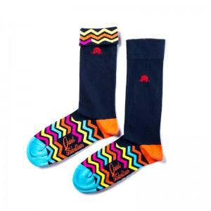 Agent Zigzag Socks - Quiet Rebellion Australia