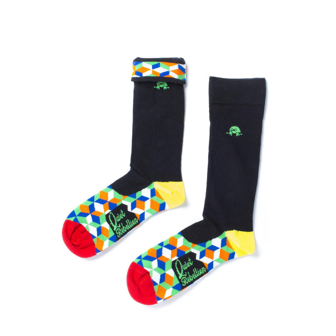 Rubik Socks - Quiet Rebellion Australia