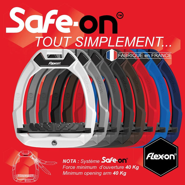 THE WAIT IS OVER - THE SAFE-ON STIRRUPS FROM FLEX-ON HAVE LANDED!