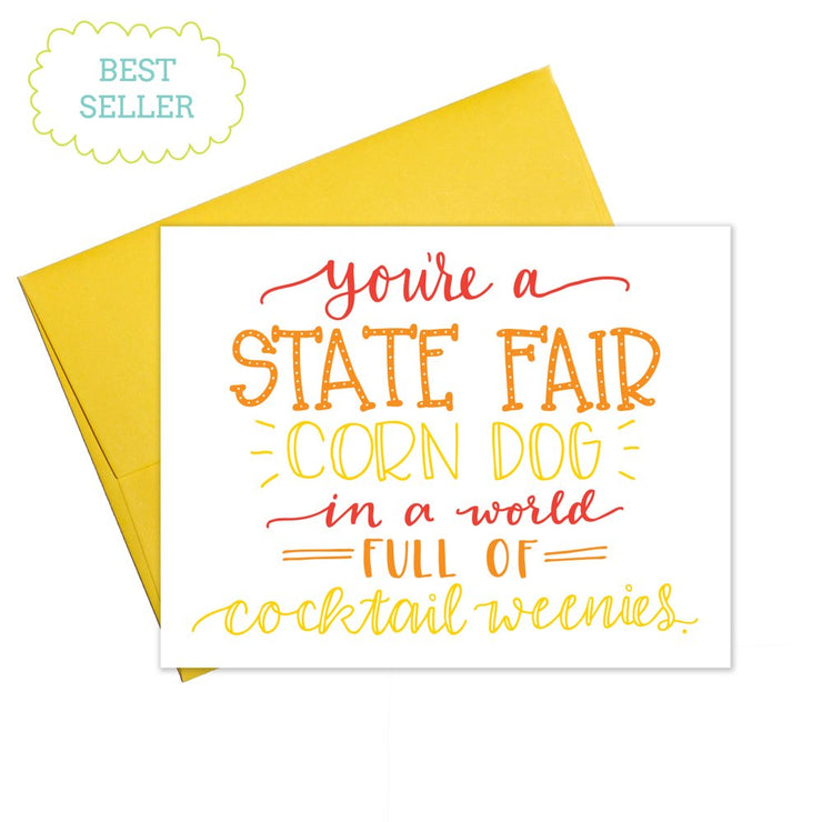 Colette Paperie - Corn Dog Card