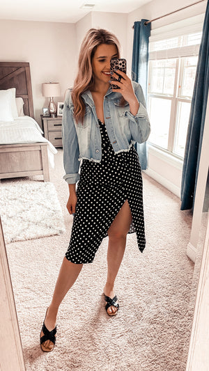 Little Polka Dot Tank Dress