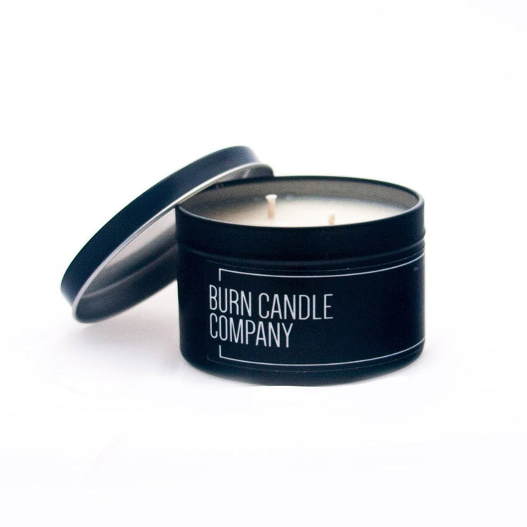 Burn Candle Company - Pipe Tobacco & Blackberry | Slow Burn Candle 4oz Tin
