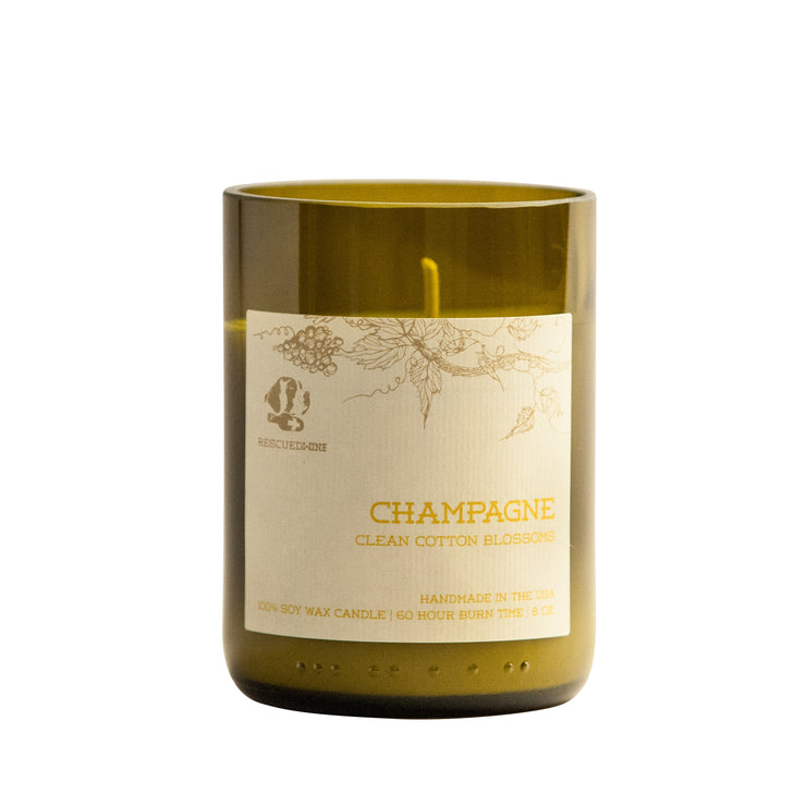 Rescued Wine - Champagne Soy Candle Balance Collection
