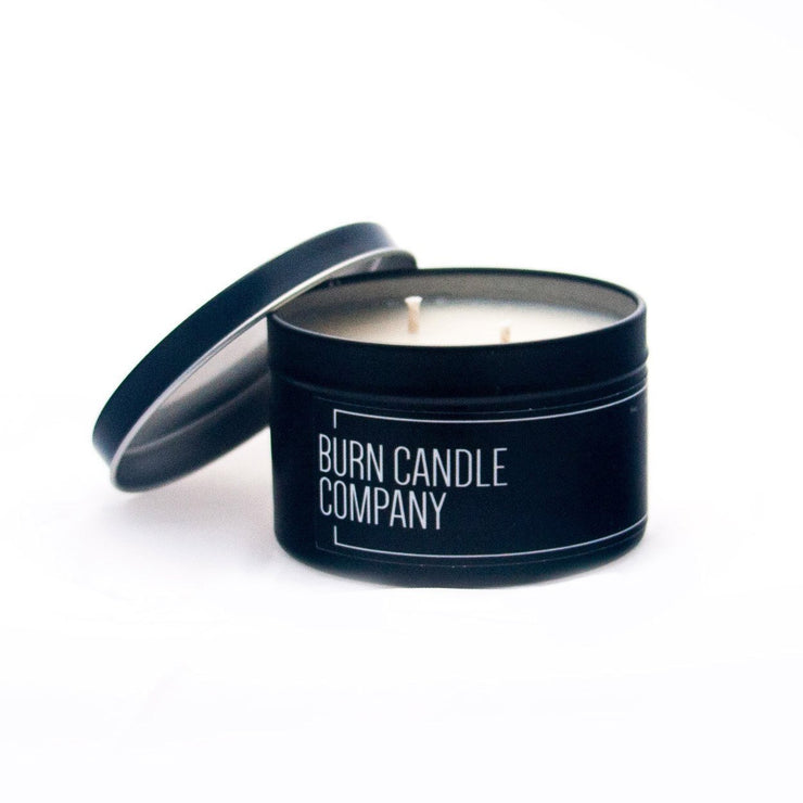 Burn Candle Company - Barrel-Aged Bourbon | Burn Your Ex Candle 4oz Tin