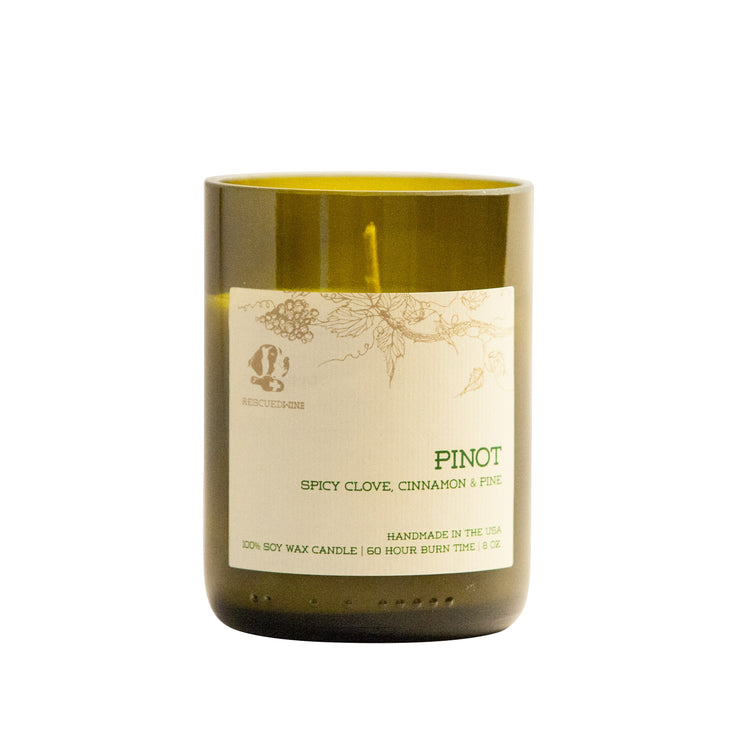 Rescued Wine - Pinot Noir Soy Candle Balance Collection