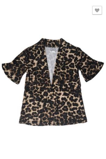 PRE-ORDER Littlest Cheetah Cardigan (Estimated Ship ASAP)