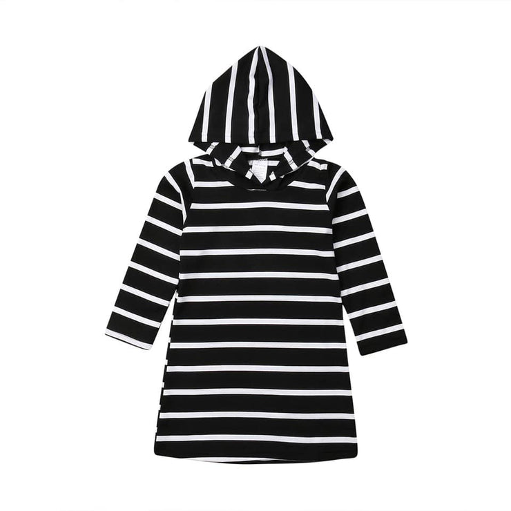 PRE-ORDER Striped Hooded Dress (ESTIMATED SHIP OCTOBER)