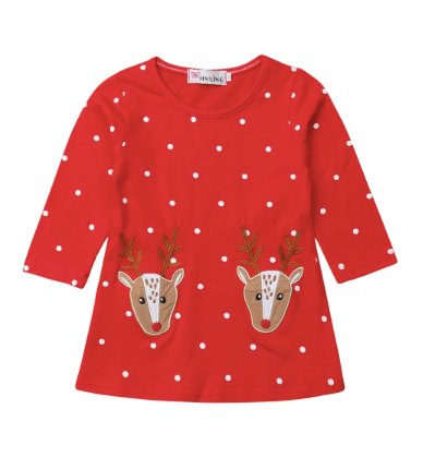 PRE-ORDER Rudolph Dress (ESTIMATED SHIP NOVEMBER)