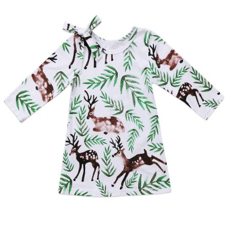 PRE-ORDER Darling Little Deer Dress (ESTIMATED SHIP OCTOBER)