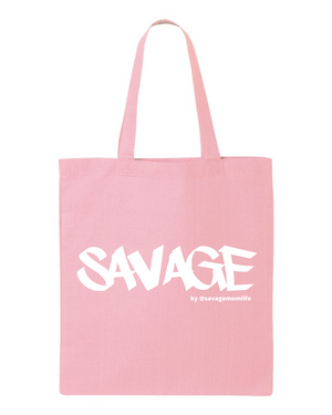 Savage Mom Signature Tote - 4 Colors (PRE-ORDER SAVAGE by @savagemomlife The Label)