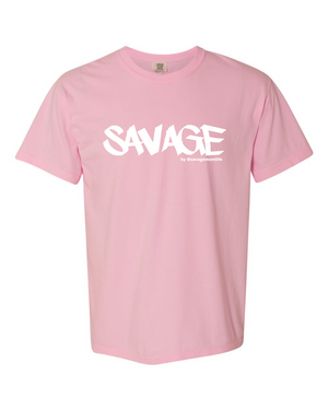 SAVAGE Tee - 4 Colors (PRE-ORDER SAVAGE by @savagemomlife The Label)