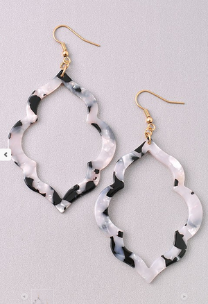 Acrylic Dangle Earring