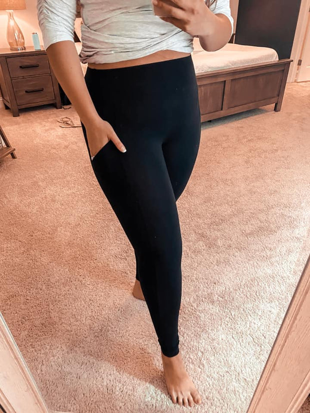 Best Black Athleisure Pocket Leggings