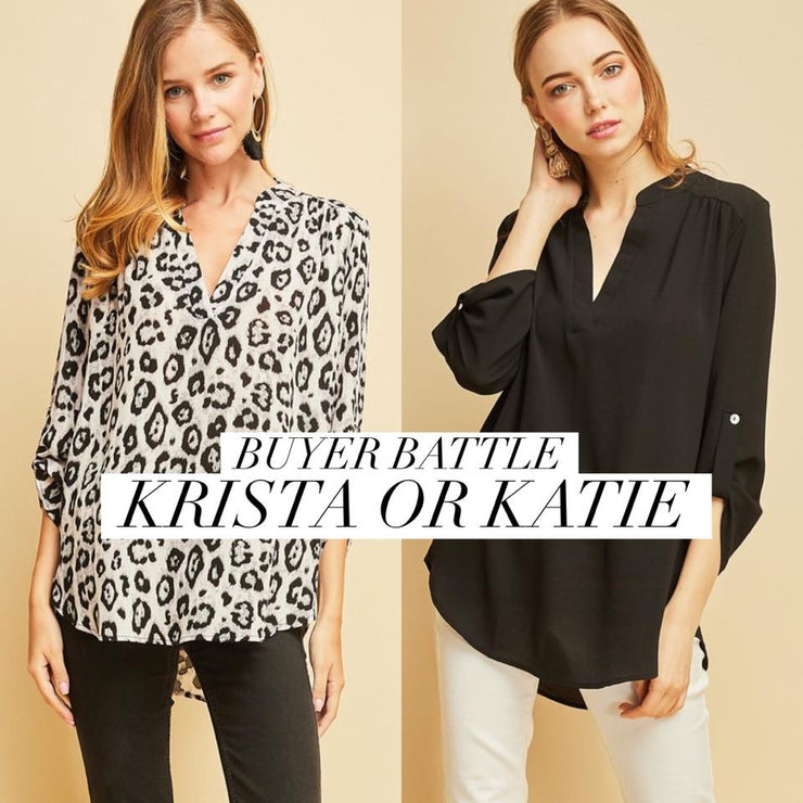 PRE-ORDER Buyer Battle Blouse  Estimated Shipping Window: 8/1-8/30