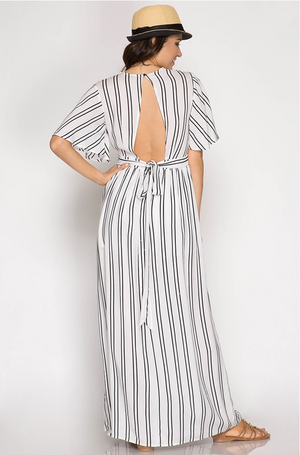 The Bailey Maxi Romper