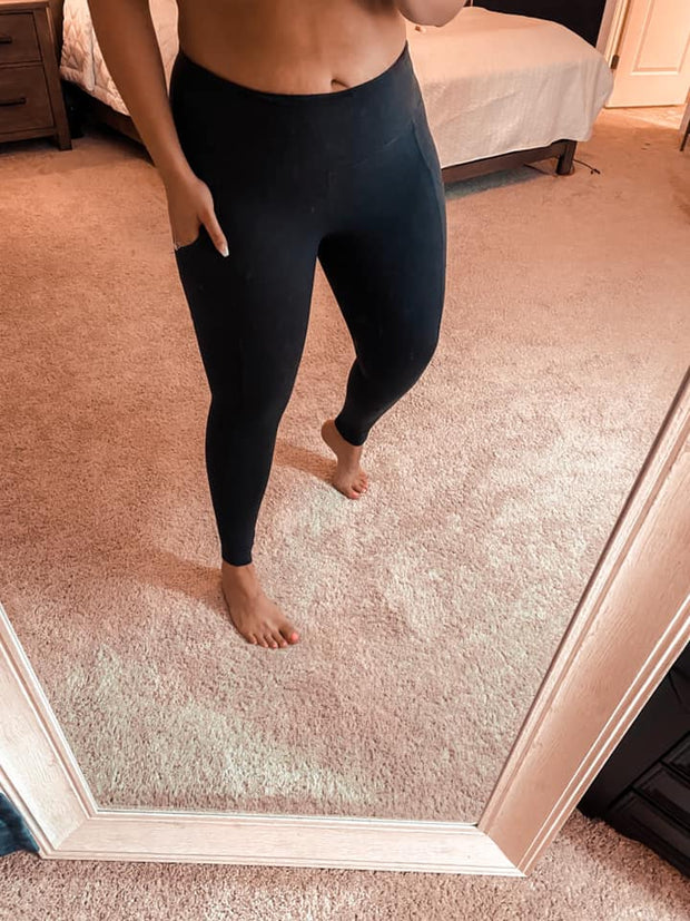 Comfort Calling Athleisure Leggings - Charcoal