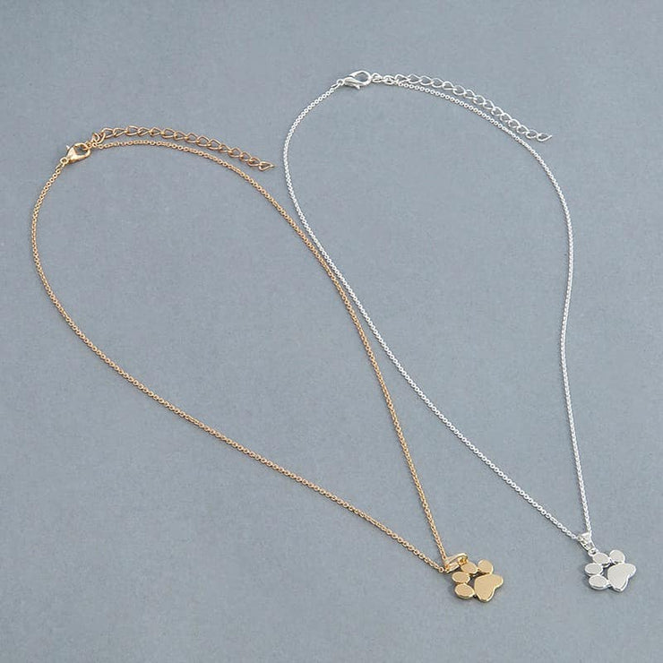 PRE-ORDER   Dainty Paw Necklace  (Est. Ship  NOVEMBER)