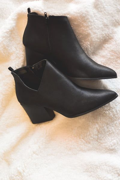 The Perfect Black Bootie