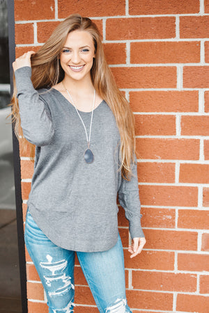INSANELY SOFT Lace Up Sweater (4 Colors)