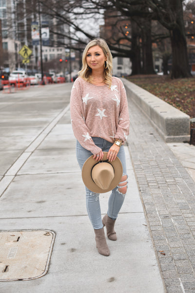 Seeing Stars Lightweight Pullover