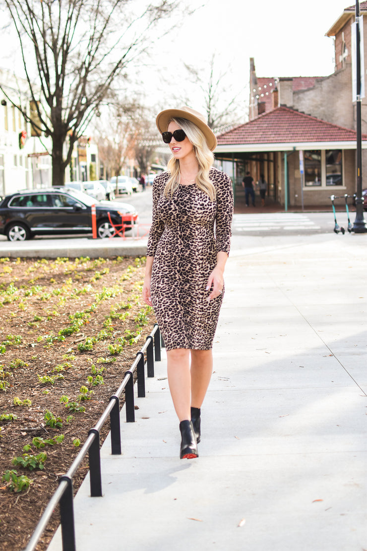 On Wednesday We Wear Cheetah Dress