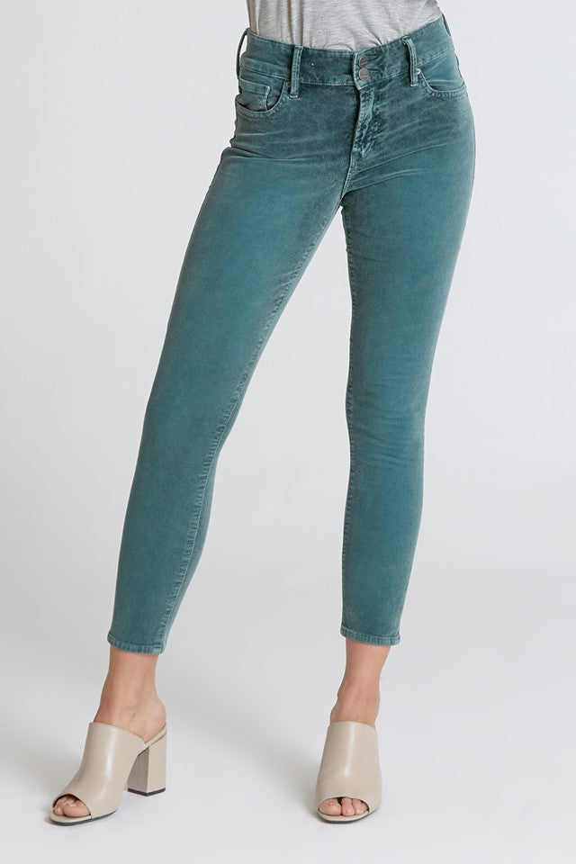 Green Bay Gisele Corduroy Skinny Pants