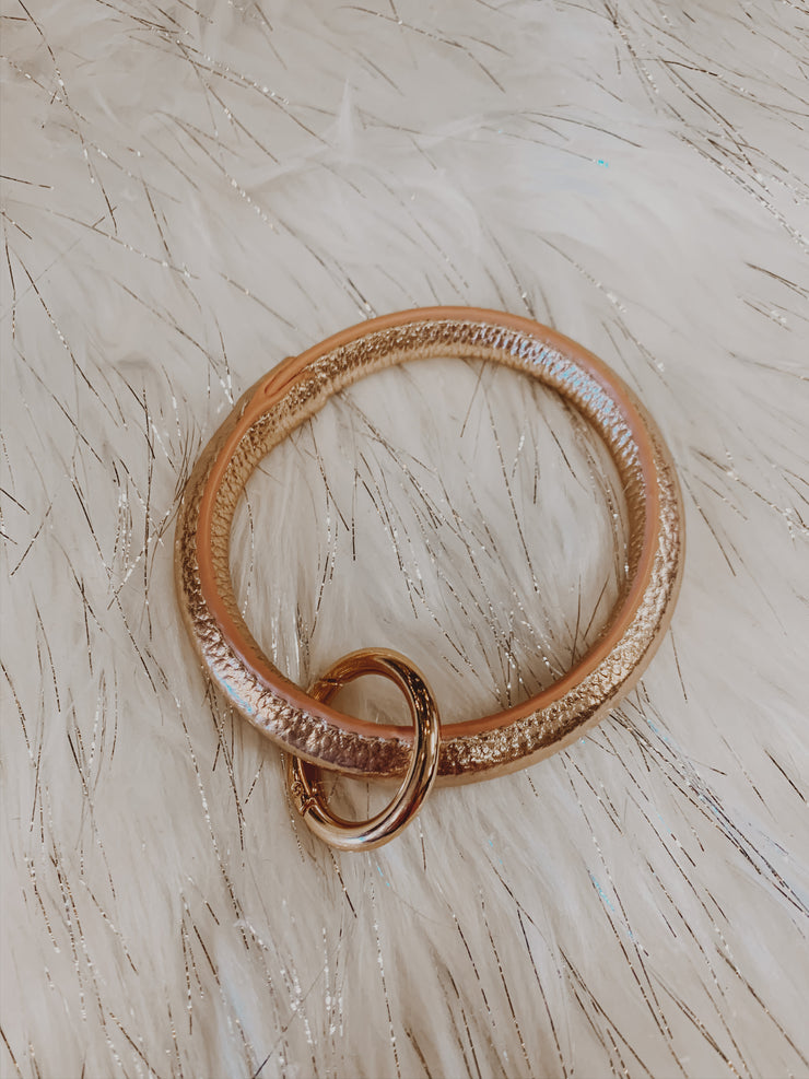 Rose Gold Key Ring