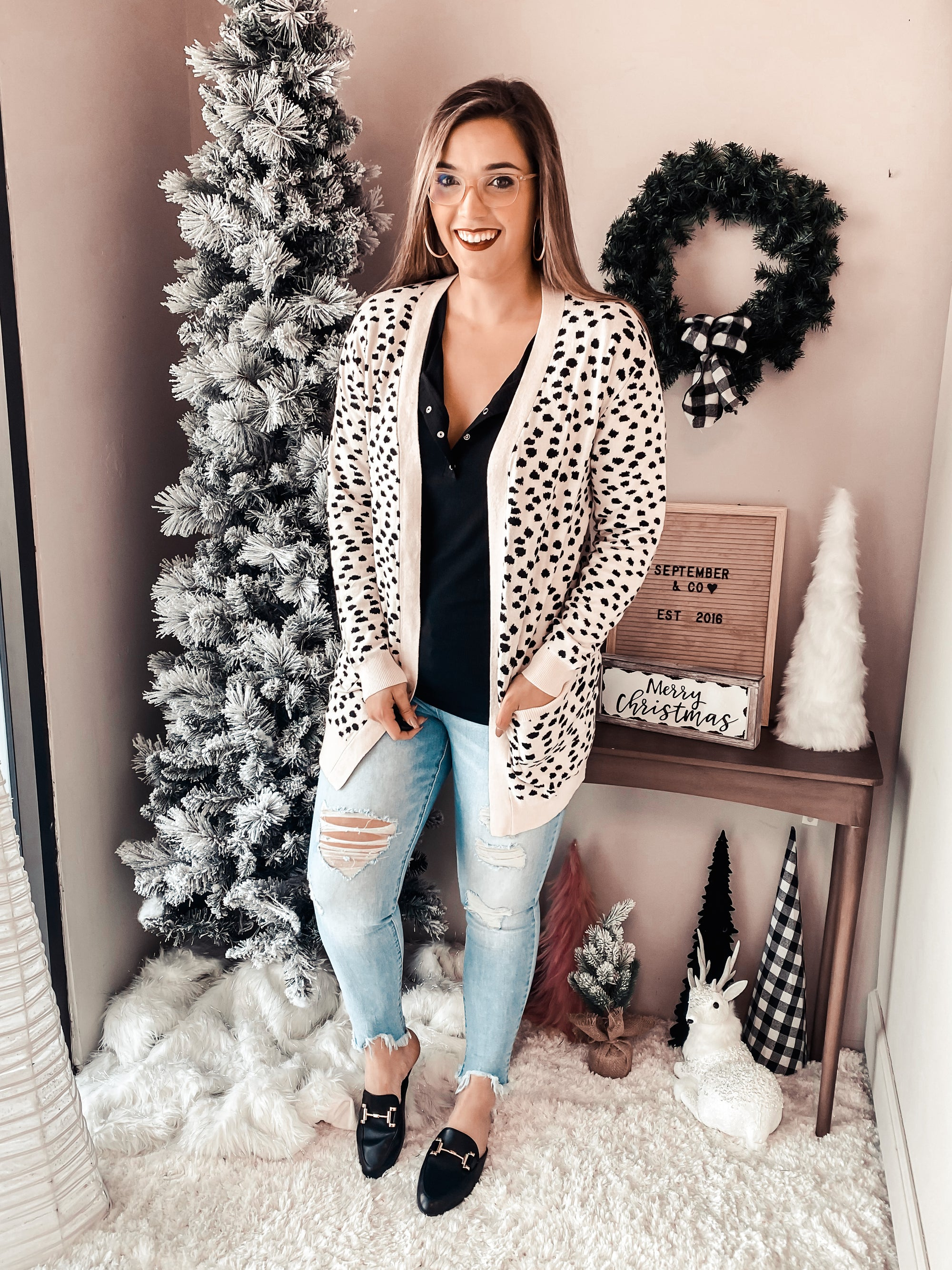 PRE-ORDER Life of the Party Leopard Cardi