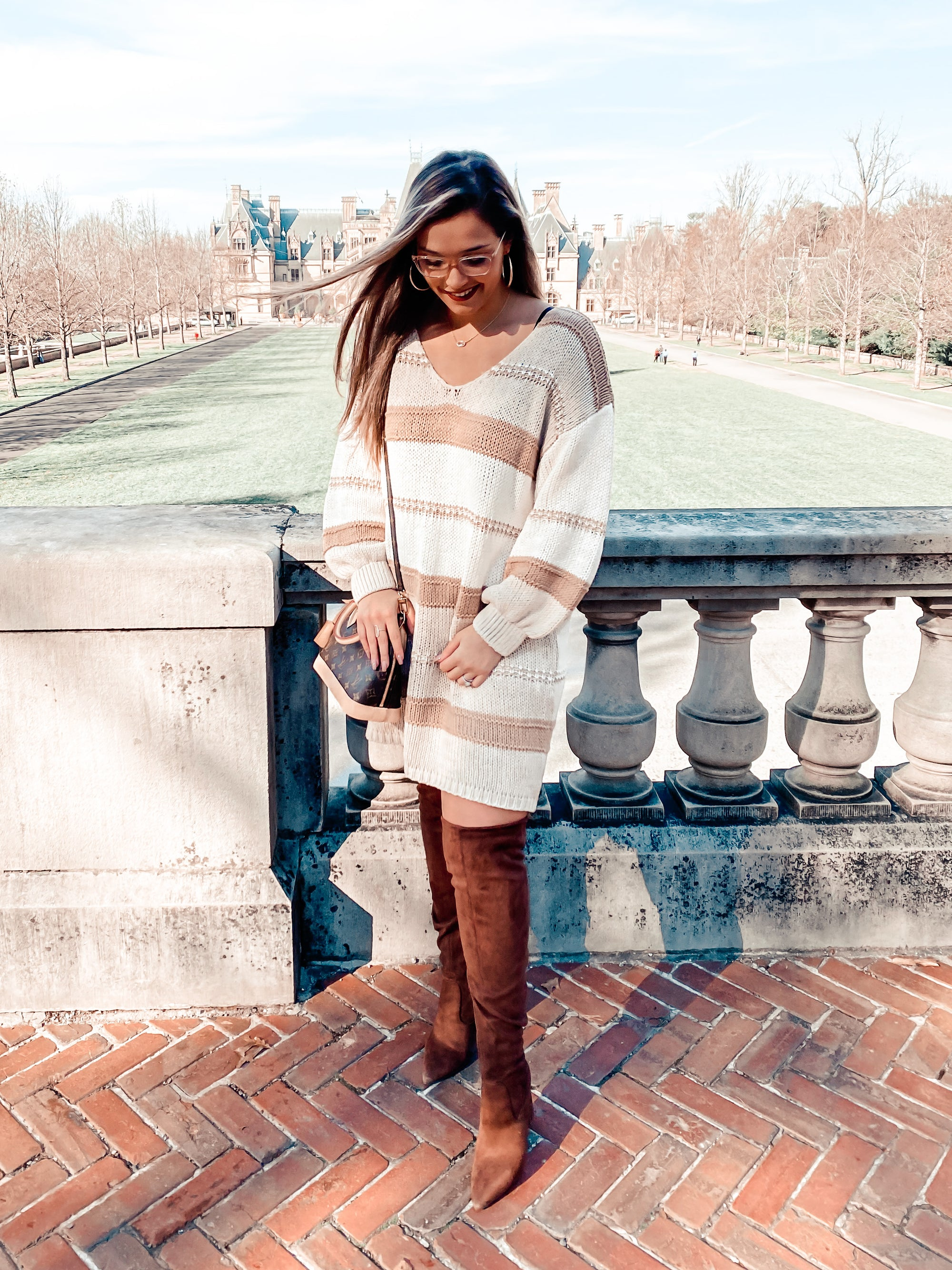 PRE-ORDER Tall Cappuccino Sweater Dress
