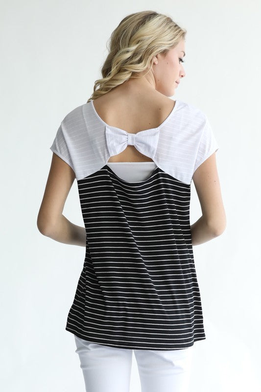 The Becky Bow Top