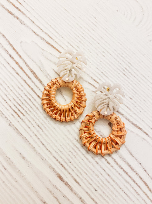 Cabana Cocktails Earrings
