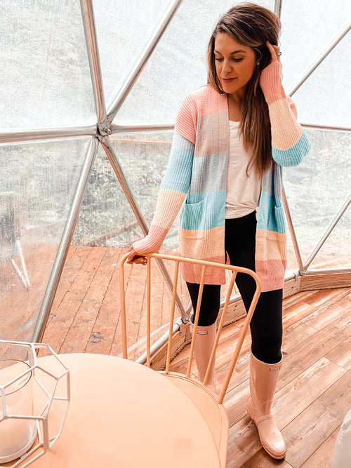 Colors of the Wind Cardigan (PRE-ORDER: @frankie.gene collection - please allow at least 30 business days for shipment.)