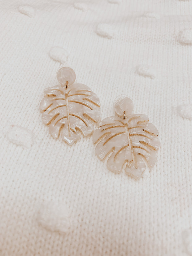 Tropical Paradise Acrylic Earrings