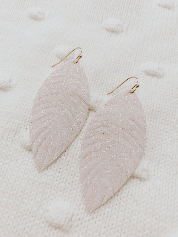 Glistening Snow Earrings