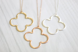 Clever Clover Necklace