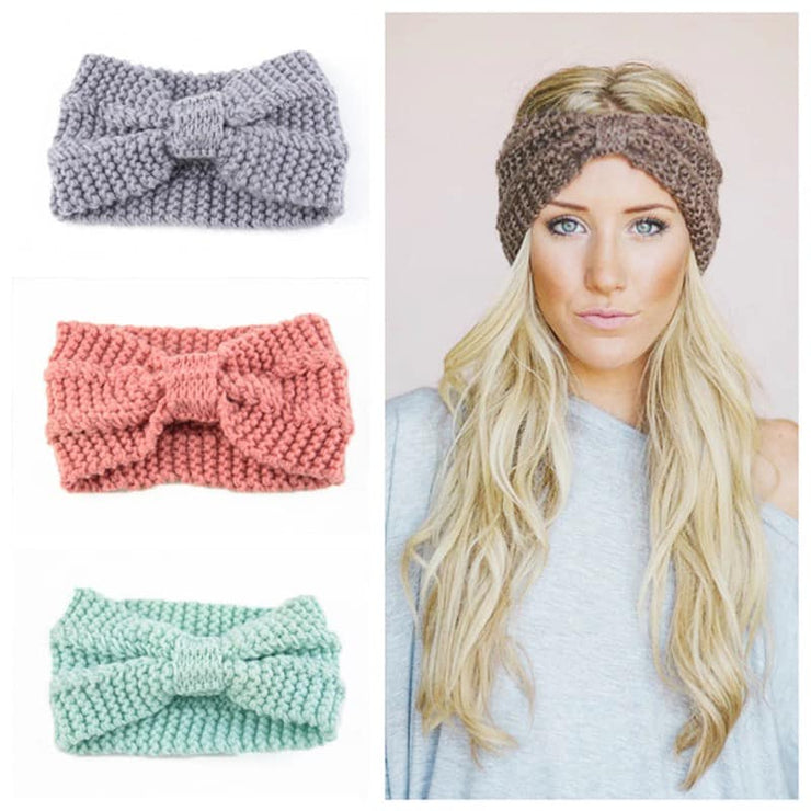 PRE-ORDER   Knit Headwrap   (Est. Ship   NOVEMBER)