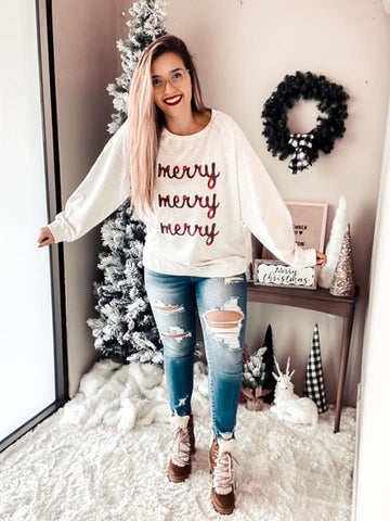 Hot Vanilla Latte Pullover